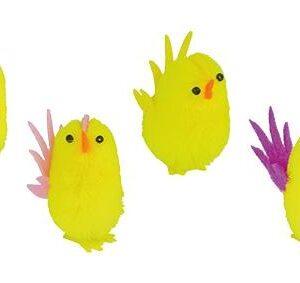 Pollo Colas de Colores